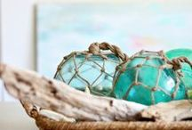 """Seaside Charm / I am drawn to the charm of the sea, and going """"down to the ocean"""" brings back childhood memories.  Here you will find all kinds of nautical, coastal, and seaside inspiration. / by Cindy Wimmer"""