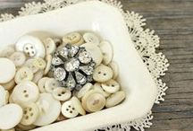 Buttons / Vintage buttons / by Cindy Wimmer