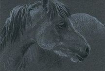 """my original drawings - ATC and ACEO / My artist trading cards (ATC), 3.5"""" x 2.5"""" / by Yelena Shabrova"""
