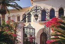 Spanish Style Homes / Spanish Influence / by ╭⊰✿ Jeanne Romano ✿⊱╮