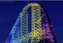 Rollercoasters / by Adrienne