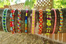 Friendship Bracelets / *Please note that these are all patterns I have created and all colors I have dreamed up myself. These are all the originals and all rights are reserved and owned by me.*  / by Ariana Hunkin