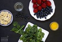 Clean eating / (whole, mainly raw, unprocessed) / by Chantal Powell