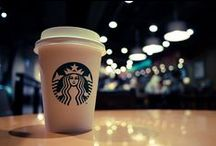 ☕☆ Starbucks ☆☕ / You know, that one place you get that magical drink that makes your day better. / by Ariana Hunkin