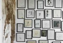 inspiration & gallery walls / by Ginny Branch Stelling