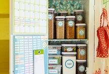 Organization / by Mallory @ the House of Hydrangeas
