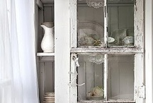 Vintage Whites - Farmhouse Style / A collection of great flea market finds for the farmhouse! / by Linda Lara