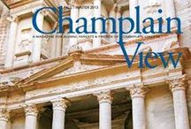 Champlain View / Magazine distributed to parents, alumni, and friends of the College each semester. / by Champlain College