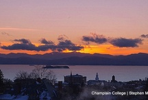 Champlain Sunsets / by Champlain College