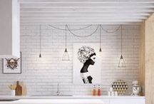 KITCHEN LOVE / a room or place equipped for cooking / by Marte Stromme