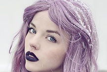 Coloured hair / by No Ticket For Fashion Shows