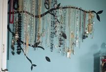 Jewelry Organizers / by Jodie Blenis Wainwright