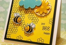 Bee Happy / by There She Goes Clear Stamps