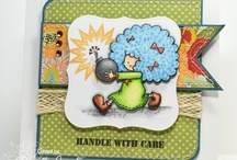 Bombdiggity / by There She Goes Clear Stamps