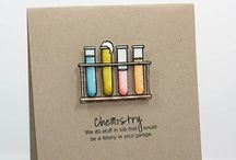 Chemistry / by There She Goes Clear Stamps