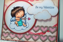 Be My Valentine / by There She Goes Clear Stamps