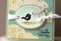 Birdie Wishes / by There She Goes Clear Stamps