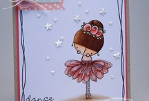 Amalia Ballerina / by There She Goes Clear Stamps