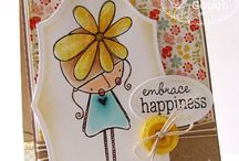 Amalia's Daisy / by There She Goes Clear Stamps