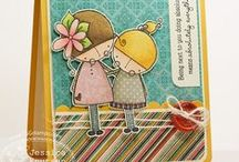 Amalia and Laylah / by There She Goes Clear Stamps