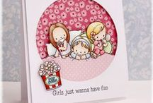 Bring The Giggles / by There She Goes Clear Stamps