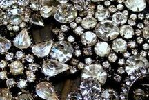 Vintage Rhinestone~ / All things Created using Vintage Rhinestone~ / by Jamie Skolnik