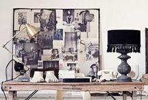 Studio/Loft Inspiration / Inspirations for my Studio/Loft Re Do  / by Jamie Skolnik