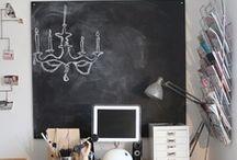 Chalk Board Love / All things Chalk Boards~ / by Jamie Skolnik