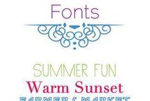 Fonts / by Debra Verrall