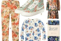 Floral Trend / Floral denim trend, tropical trend and more / by Liz Mitchell