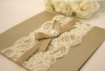 paper and stationary  / by Breanna Saxon ~ Wedding Photographer