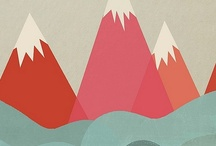 mountains // maps  / { mountains, maps, and all things travel } / by Veronica Montemayor