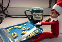 The Seemingly Mischievous Adventures of Hipaa the Elf / He arrives every holiday season and pops up in the most unusual of places throughout the Rex campus, spreading joy, magic and a little bit of Elfin' fun... / by Rex Healthcare