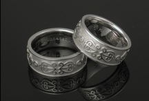Eternity Pattern Wedding Rings / by Krikawa Jewelry Designs