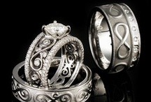 Infinity Symbol Wedding Bands / by Krikawa Jewelry Designs