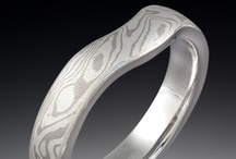 Shadowed & Contoured Wedding Rings / by Krikawa Jewelry Designs