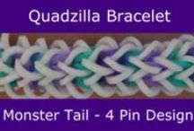 Monster Tail loom / patterns for the Monster Tail or loomless patterns / by Jan Katy Moore