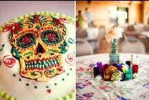 Mexico ♥ Inspired ♥ / COLORFUL Vibrant art of Mexico! Lots of Day of the Dead artwork and inspirations from Frida and Diego. / by Camille Obert-Goralski
