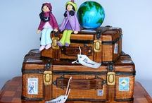 Amazing Cakes-Travel Themed / by Amie Lee-Power-Boggeman
