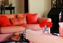 Color - Coral / by SAS Interiors Jenna Burger