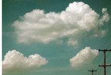 float / i love clouds / by Patti Digh