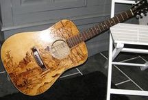 Music & Art / I love music and I find it very inspiring when I am in my creative mode. I also love to find pictures of musical instruments and how they are intertwined in so many pieces of art. / by Creative Name Signs - Personalized Decor