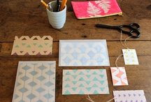 Paper Arts / Stencils used in crafts like scrapbooking, card making, etc. / by StencilSearch