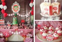Little Red Riding Hood / Little Red Riding Hood Birthday Party Ideas & Inspiration / by Lilly Bimble