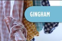 Style: Gingham / Tons of gingham applications: clothes, dresses, childrens, decor, picnic, textures, vintage photographs and products. / by Kristen Myers