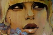 GRAFITEANDONDE / La primera ley del arte es la verdad y la expresión.  Gotthold Ephraim Lessing / by Amelia Ramirez
