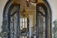 """~ """"Come on In!"""" ~ / Entry Doors, Foyers, and Stairs...first impressions mean everything! / by Elaina Valentin~Prinzivalli"""