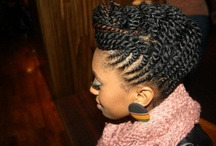 Natural Hair-Styles / by Shavon Brooks