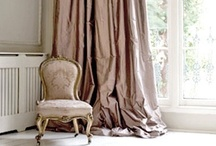 NEUTRALS / Inspirational images of window treatments + details in prints + solids in shades of linen, beige, putty and taupe. / by The Curtain Exchange