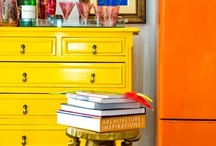 Furniture Inspirations / Inspiring Furniture: Bright painted pieces or charming antiques. / by Kahli & Milla